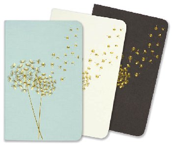 Jotters Mini Notebooks - Dandelion Wishes (set of 3)