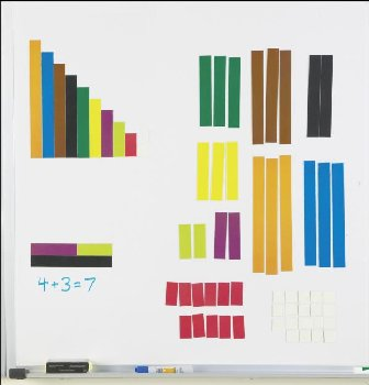Magnetic Cuisenaire Rods (Set of 64)