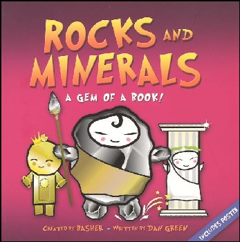 Rocks and Minerals: Gem of a Book! Basher Sci