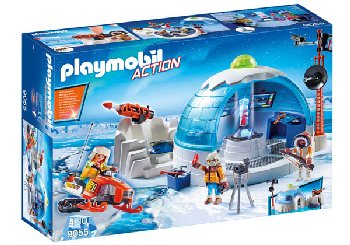 Arctic Expedition Headquarters (Playmobil Action)