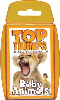 Top Trumps Card Game - Baby Animals