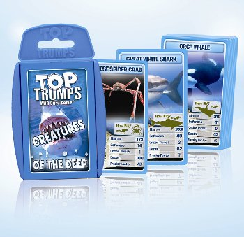 Top Trumps Card Game - Creatures of Deep Sea