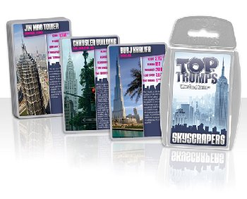 Top Trumps Card Game - SkyScrapers