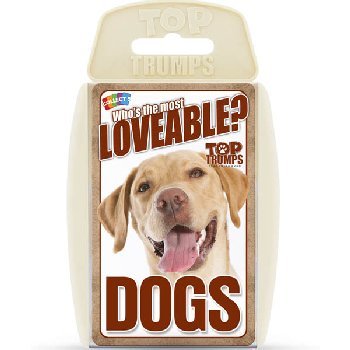 Top Trumps Card Game - Loveable Dogs