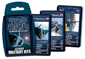 Top Trumps Card Game - Ultimate Military Jets