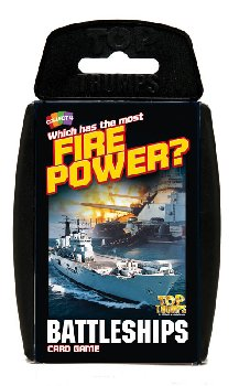Top Trumps Card Game - Battleships