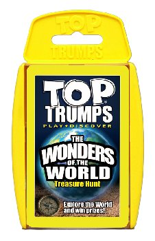 Top Trumps Card Game - Wonders of the World