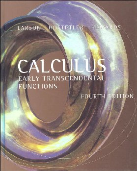 Calculus: Early Transcendental Functions - 4th Edition