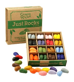 Crayon Rocks in a Box 16 Colors - Set of 64