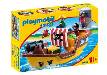 Pirate Ship (Playmobil 1-2-3)
