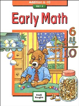Early Math Set 2: Addition 6-10
