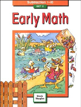 Early Math Set 2: Subtraction 1-10