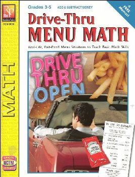 Drive-Thru Menu Math - Add & Subtract Money
