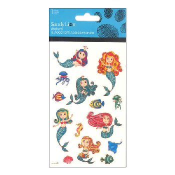 Mermaids Standard Stickers
