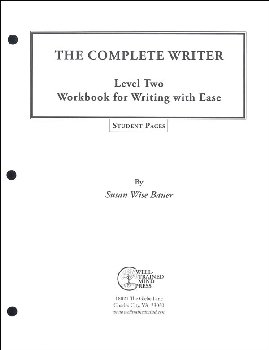 Complete Writer: Writing With Ease Level 2 Student Pages