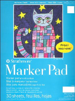 Strathmore Kids Marker Pad 9 x 12 (30 sheets)