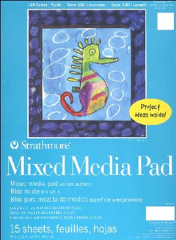 Strathmore Kids Mixed Media Pad 9 x 12 (15 sheets)