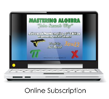 Mastering Algebra - Advanced Mathematics: Trigonometry and Pre-Calculus 2nd Edition Online Video Access (24-month subscr