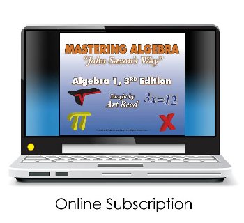 Mastering Algebra - Algebra 1 3rd Edition Online Video Access (24-month subscription)