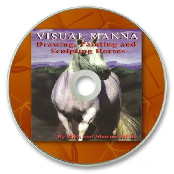 Drawing, Painting & Sculpting Horses on CD