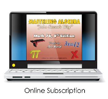 Mastering Algebra - Math 76 4th Edition Online Video Access (24-month subscription)