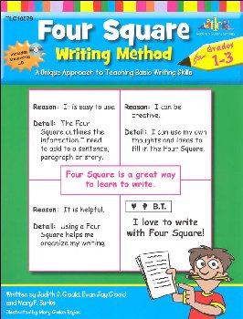 Four Square Writing Method for Gr. 1-3 w/ CD