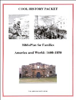 BiblioPlan's Cool History for Middles: Early Modern History U.S. and  World History 1600-1850