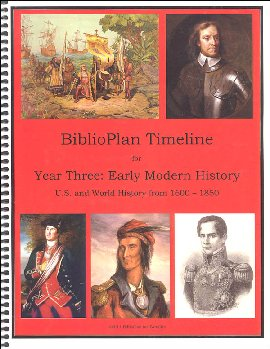 BiblioPlan: Early America and the World (1600-1850) Timeline