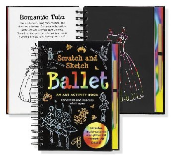 Ballet Scratch and Sketch Activity Book