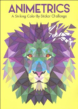 Animetrics: Striking Color-By Sticker Challenge