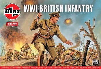 WWI British Infantry Figures (1:76 Scale)
