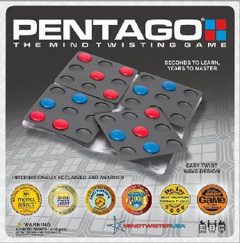 Pentago Lite Edition (2-Player Game)