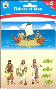Fishers of Men Bible Story Builder Stickers