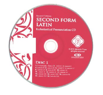 Second Form Latin Pronunciation CD Second ED