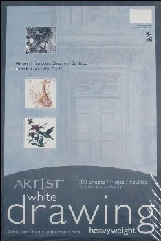 "Art1st Medium Weight Drawing Paper 12""x18"" - 100 sheets"