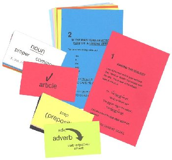 Winston Grammar Basic Level Clue Card Set