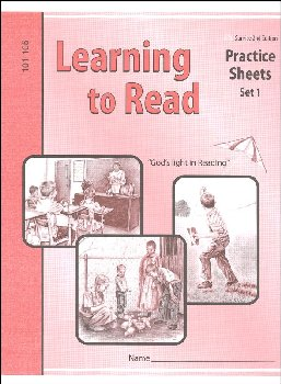 Learning to Read Practice Sheets (101-105) 2nd Edition