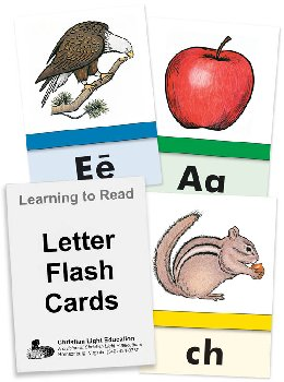 "Letter Flash Cards (4"" x 5"")"