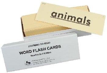 Word Flash Cards - 2nd Edition