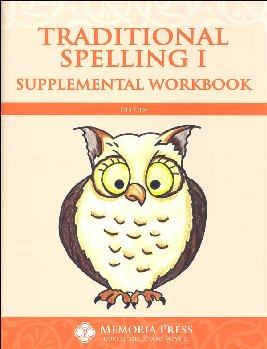 Traditional Spelling I Supplemental Workbook