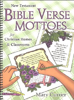 New Testament Bible Verse Mottoes