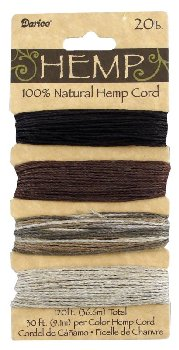 Earthy 20 lb. Hemp Cord Set - 120 feet
