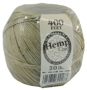 Hemp Twine 20 lb. Spool - 400 feet