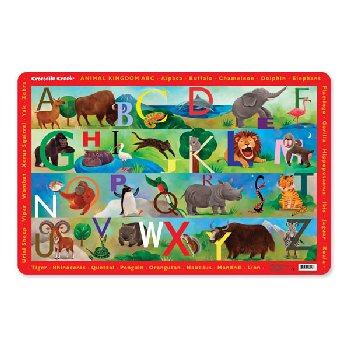 Animal Kingdom ABC Placemat (Eat & Learn Placemats)