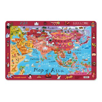 Asia Seek & Find Placemat (Eat & Learn Placemats)