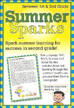 Summer Sparks Activity Cards - Between Grades 1 and 2
