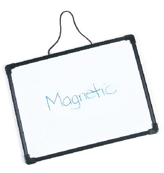 Day & Night Double-Sided, Dry-Erase Magnetic Board