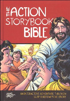 Action Storybook Bible: Interactive Adventure through God's Redemptive Story