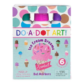 Do-A-Dot Scented Ice Cream Dreams Markers 6 pack
