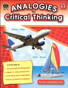 Analogies for Critical Thinking Grades 1-2
